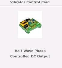 Vibrator Control Card