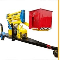 Trailer Mounted Manlift - Towing