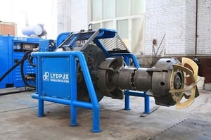 Industrial Hydraulic Internal Expanding Pipe Facing Machines