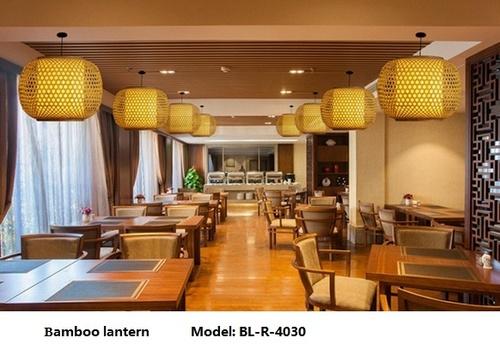Led Bamboo Lanterns 3040