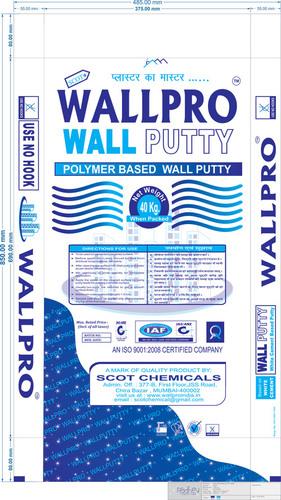 Scot Wallpro Polymer Base Wall Putty