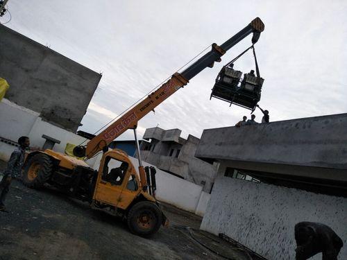 Structural Crane Hire Services