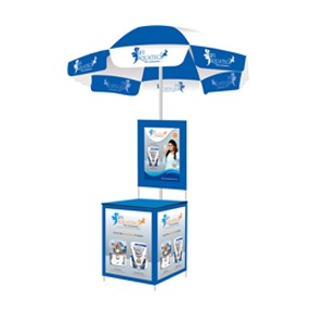 Umbrella Promotional Table