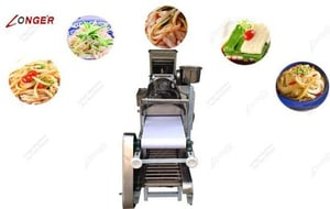 High Efficiency Cold Rice Noodle Making Machine