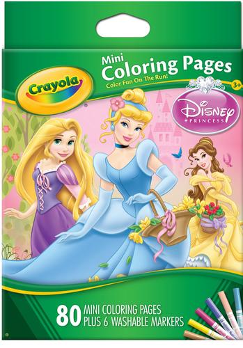 Mini Colouring Pages Disney Princess In Kadamba Road