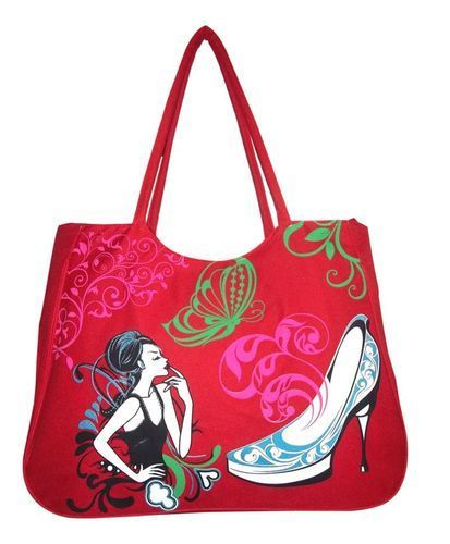 Ladies Attractive Jute Bag