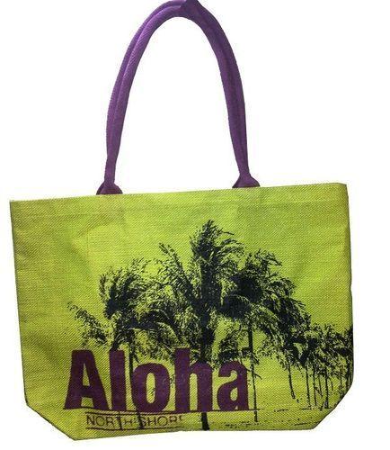 Ladies Designer Jute Bag