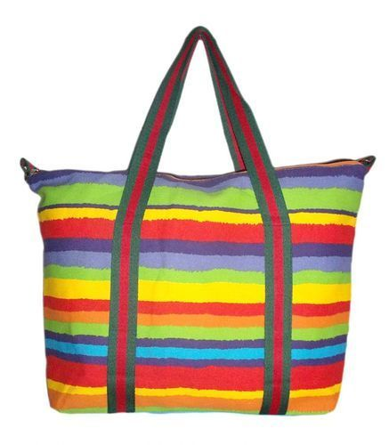 Ladies Jute Colored Bag