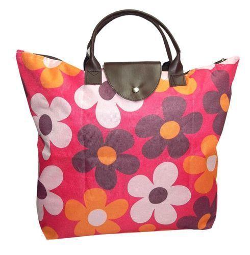 Ladies Printed Jute Bag