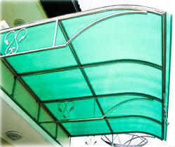 Sturdy Construction Polycarbonate Canopy