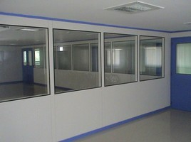 Customized Clean Room Modular Flush Sandwich Panel
