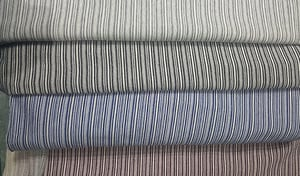Family Stripes Knitted Fabric