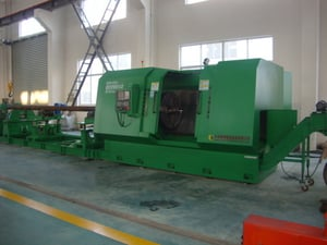 HY-630TA CNC Pipe Threading Lathe For Drill Collar