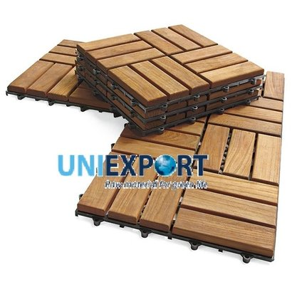 Outdoor Flooring Tiles From Acacia Wood Certifications: Fsc Cerfication