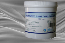 Activated Charcoal Tablets 125 mg in  Raopura  (Vdr)