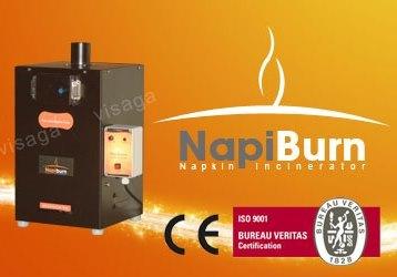 Napiburn Sanitary Napkin Incinerator