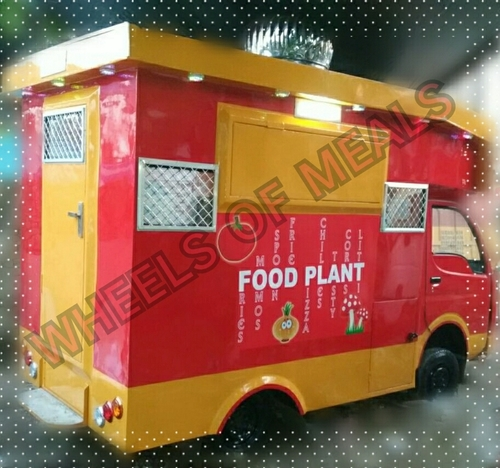 Customized Commercial Food Vans