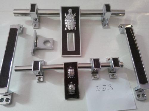 Standard White Metal Luxuy Door Kit 553