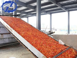 Automatic Chili Dryer With Low Temperature