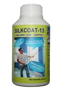 SILKCOAT-13 Additive for Primer, Emulsion and Acrylic Paint