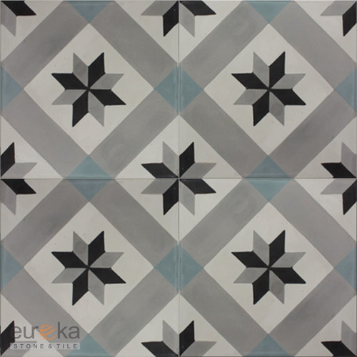 Encaustic Handmade Cement Square Tiles