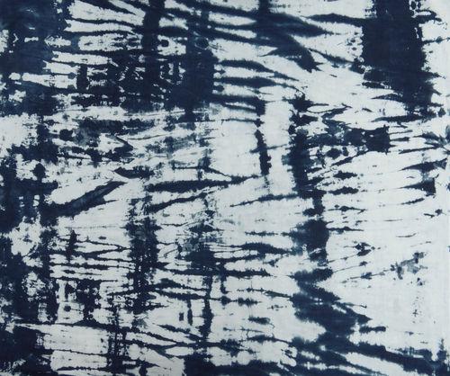 Shibori Print Bandhani Fabric