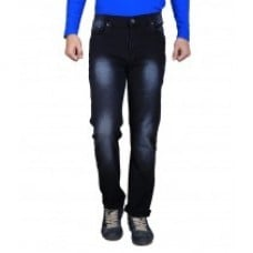 Black Slim Fit Jeans Fabric Weight: 300 Drams (Dr)