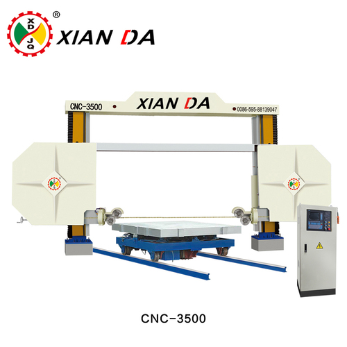 CNC Diamond Wire Saw Machine For Profiling CNC-3500 in Jinjiang ...