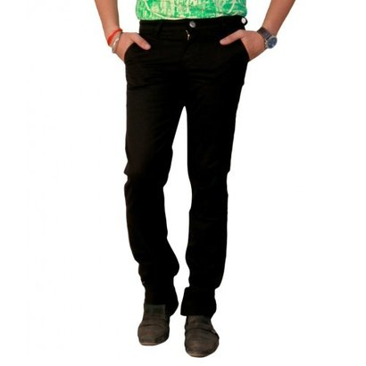 Seasons Black Regular Fit Jeans Fabric Weight: 300 Drams (Dr)