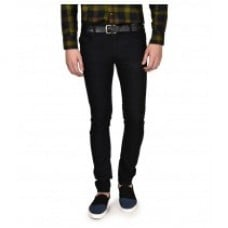 Seasons Black Slim Solid Jeans Fabric Weight: 300 Drams (Dr)