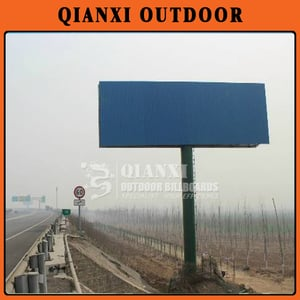 Double Sides Steel Structure Outdoor Advertising Spectaculars