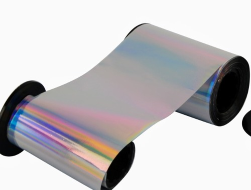 Holographic Silver Ribbon For Zebra Card Printers
