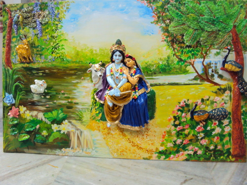 Radha Krishna Mural Painting at Best Price in Howrah, West Bengal | D'ART &  CRAFT