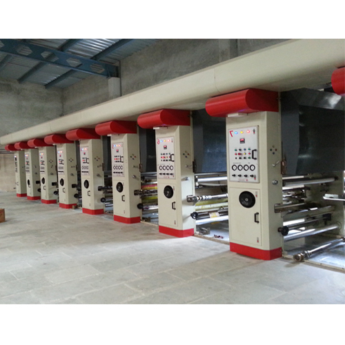 Industrial Rotogravure Printing Machines