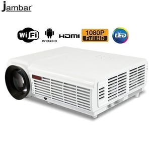 Jambar JP-96 Pluse Android Wifi Meeracast LED Projector