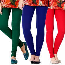 Ladies Cotton Leggings in   Miraj