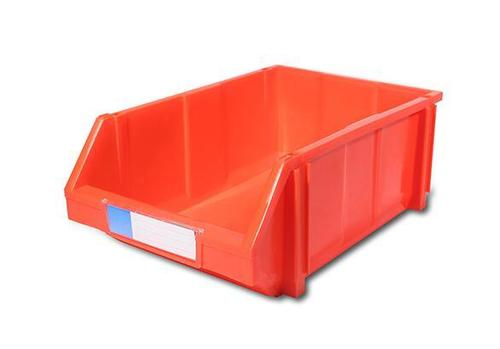 Virgin PP Material Stackable Screw Plastic Storage Bins