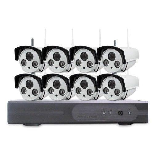 8 Channel IP Surveillance System