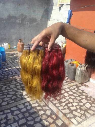Coloured Human Hair