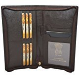 Knott Brown Exclusive Passport Holder with All Round Zip