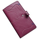 Knott Trendy Pink Leather Wallet for Women