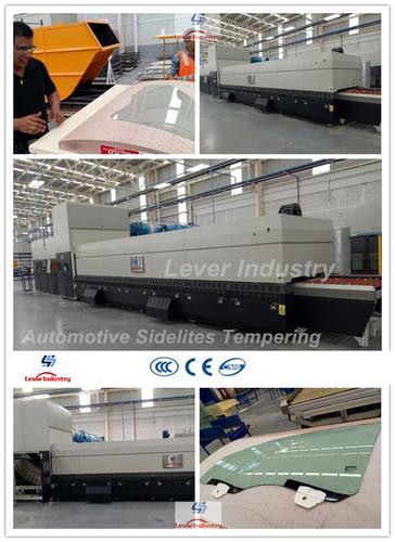 Automotive Sidelites Glass Toughening Machine