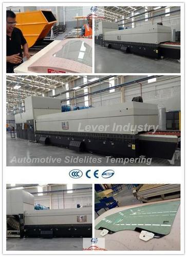 Automotive Sidelites Glass Toughening Machine For Car Sidelites