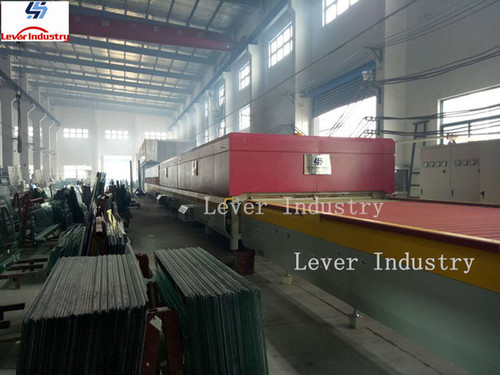 Lv-Dtf Series Double Heating Chamber Glass Toughening Machine