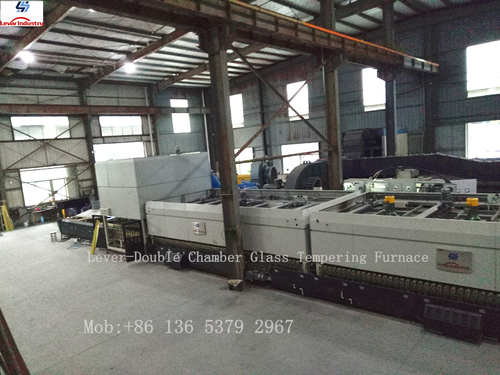 LV-DTFB Series Double Heating Chamber Flat & Bend Glass Toughening Machine