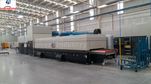LV-TB-L Series Bending Glass Tempering Furnace for Automobile Sidelites Glass