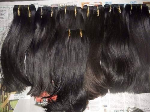 Virgin Machine Weft Hair