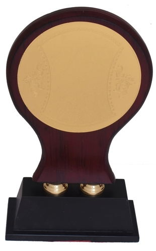 Corporate Wooden Simple Trophy