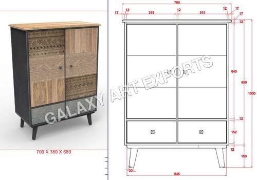 Drawer Cabinet Antique Style 2 in  Pratap Nagar
