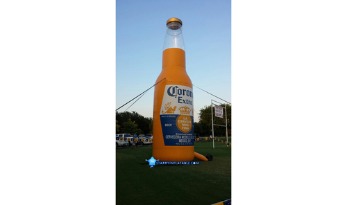Ad Inflatable Promote Bottles